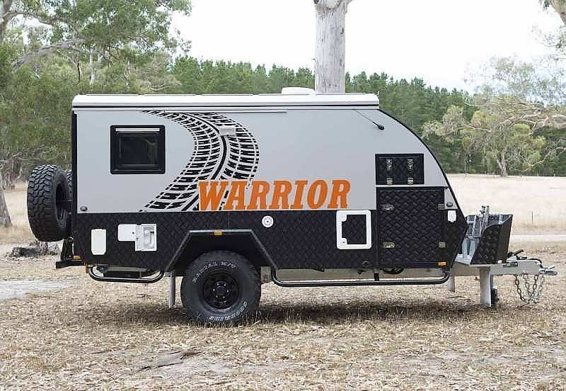 Warrior Hybrid Caravan 12ft Bunk - Camper Trailers Albury